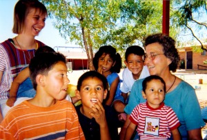 Sister Sarah at Mexican Orphanage