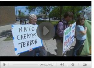 Clip from Chicago's CBS news re: NATO protesters