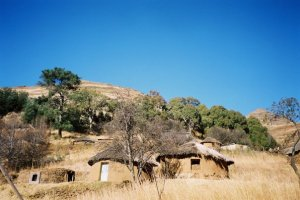 """""""simple and quiet: a scene from Lesotho"""" Photo by Julia Walsh FSPA"""