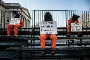 """Witness Against Torture: I am Still Waiting"" Photo by Justin Norman"