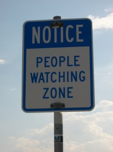 """People Watching Zone"" photo by Julia Walsh, FSPA"
