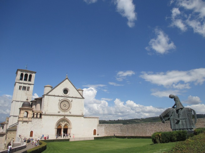 """Basilica of San Francesco, Assisi"" Photo by Julia Walsh FSPA"