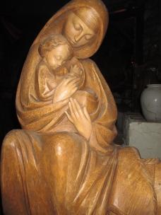 """""""Mary & Child: Nativity in Greccio"""" Photo by Julia Walsh FSPA"""