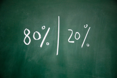Pareto Principle (courtesy of ©iStockphoto.com\(flytosky11)