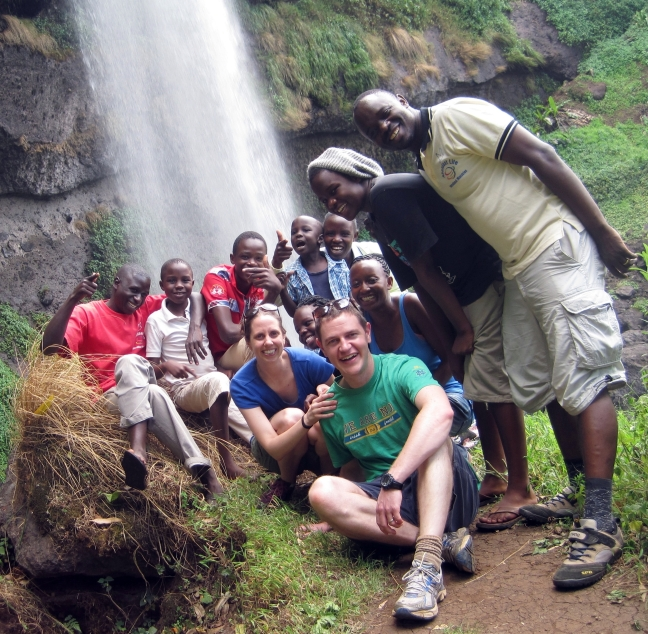 hiking trip to Sipi, courtesy of Nicole Steele Wooldridge