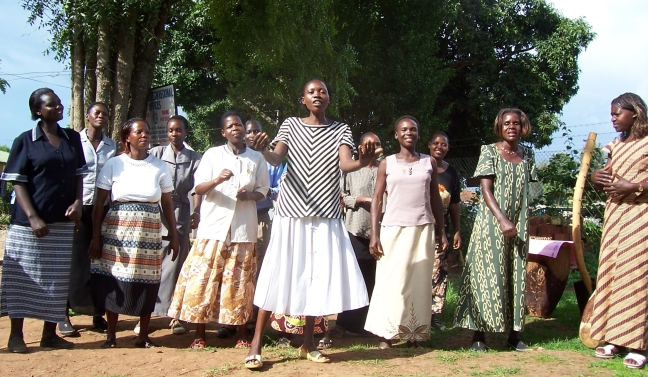 Ugandan choir