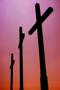 crosses-against-sky