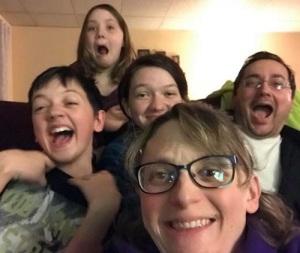 five-people-silly-selfie